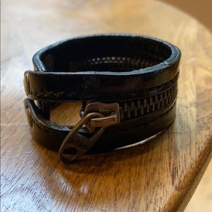 Diesel leather cuff
